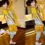 กระเป๋า สะพายไหล่ Messenger สีเหลือง thumbnail 2