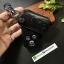 ซองหนังแท้ ใส่กุญแจรีโมทรถยนต์ Honda Civic FB,CR-V Keyless 3 ปุ่ม รุ่นถอดปลอกได้ สีดำ thumbnail 8