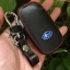 ซองหนังแท้ ใส่กุญแจรีโมทรถยนต์ รุ่นโลโก้-ฟ้า Subaru XV,Forester,Brz,Outback 2015-18 Smart Key thumbnail 9