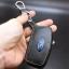 ซองหนังแท้ใส่กุญแจรีโมทรถยนต์ Ford Fiesta - Focus แบบพับข้าง โลโก้ฟ้า 3 ปุ่ม thumbnail 6