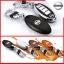 New กรอบ_เคส ใส่กุญแจรีโมทรถยนต์ Nissan Teana,Almera,Sylphy,Xtrail Smart Key 4 ปุ่ม thumbnail 3