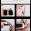 NEW กรอบ_เคส ใส่กุญแจรีโมทรถยนต์ รุ่นโคเมียม HONDA HR-V,CR-V,BR-V,JAZZ Smart Key 2 ปุ่ม thumbnail 8