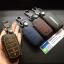 ซองหนังแท้ ใส่กุญแจรีโมทรถยนต์ Toyota Hilux Revo Smat Key 3 ปุ่ม รุ่นด้ายสี thumbnail 6
