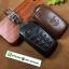 ซองหนังแท้ ใส่กุญแจรีโมทรถยนต์ หนัง Cowhide All New Toyota Fortuner/Camry Hybrid 2015-17 Smart Key 4 ปุ่ม thumbnail 5