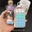 กระเป๋าซองหนังใส่ กุญแจรถยนต์ ประดับคริสตัล DIY หลากสี (กระเป๋า-ไม่รวมตุ๊กตา) thumbnail 4
