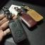 ซองหนังแท้ ใส่กุญแจรีโมทรถยนต์ Toyota,Prius,Camry,Keyless รุ่น ป้ายเงิน 3 ปุ่ม thumbnail 10