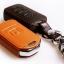 ซองหนังแท้ ใส่กุญแจรีโมทรถยนต์ Honda Accord All New City Smart Key 3 ปุ่ม thumbnail 3