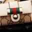 กระเป๋าพวงกุญแจ Gucci กุชชี่ ลายใหม่ คุณภาพเป็นเลิศ สี น้ำตาล - ขาว (Pre) thumbnail 8