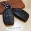 ซองหนังแท้ ใส่กุญแจรีโมทรถยนต์ รุ่นโลโก้เหล็ก Hyundai Elantra 2,3 ปุ่ม พับข้าง thumbnail 6
