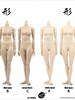 POPTOYS 92003A-C / 92004A-C XING Series - Repay Version Super flexible female body (Plastic Joints)