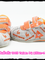 *ส่งฟรี EMS* เสื้อผ้าเด็กนำเข้า รองเท้าเด็กนำเข้า lecoq sportif สีส้ม งานเนี๊ยบ น้ำหนักเบา (มีจำหน่ายเฉพาะในเว็บไซต์เท่านั้น)