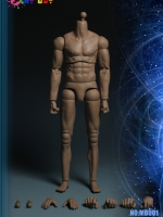 PLAY TOY MB001, MB002 1/6 Muscle male body with 2 joints on the arms