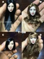 T-08 Asian beauty - Liu Yan head