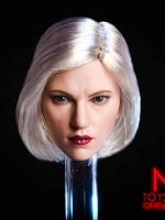 NRTOYS 1/6 Silver Hair Warrior Natasha Widow 6.0 Suntan