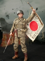 DID A80129 WWII US Army 77th Infantry Division - Captain Sam