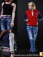 Fire Girls Toys FG037-A / FG037-B / FG037-C Baseball Clothing