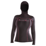 Chillproof Long Sleeve w/ Hood – Womens
