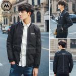 เสื้อแจ็คเก็ตไต้หวันนำเข้า J004 (สีดำ) - พร้อมส่ง