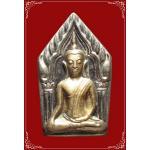 พระขุนแผนกุมารทอง เนื้อชินตะกั่วหน้ากากเงิน หลวงพ่อพูล วัดไผ่ล้อม อนุสรณ์ 100 วัน ปี2548 (3)