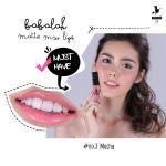 Babalah Matte Me Lip No.3 สี Mocha