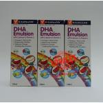 VitaHealth DHA emulsion 120 มล.3 ขวด ราคา 1140 บาท ส่งฟรี