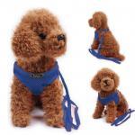 Zlchen สายจูงสุนัข เสื้อจูงสุนัข สีน้ำเงิน