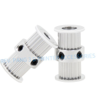 Pulley Double Sided 2GT 20ฟัน กว้าง6mm รูใน5mm