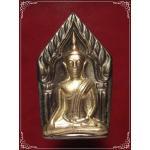 พระขุนแผนกุมารทอง เนื้อชินตะกั่วหน้ากากเงิน หลวงพ่อพูล วัดไผ่ล้อม อนุสรณ์ 100 วัน ปี2548 (1)