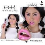 Babalah Matte Me Lip No.5 สี Candy Stripe