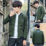 เสื้อแจ็คเก็ต J004 (สีเขียว) - [สินค้าไต้หวันนำเข้า-พร้อมส่ง]