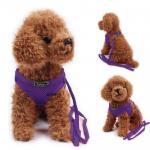 Zlchen สายจูงสุนัข เสื้อจูงสุนัข สีม่วง
