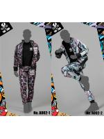 TIDE-ZONE A002 Sports Camouflage Outfits