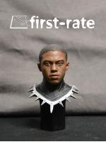 First-Rate FR-01 Panthers 1/6 headsculpt with war clothing base Chadwick Boseman
