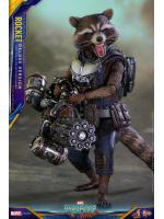 Hot Toys MMS411 GUARDIANS OF THE GALAXY VOL.2 - ROCKET (DELUXE VERSION)
