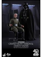 Hot Toys MMS434 STAR WARS: EPISODE IV A NEW HOPE - GRAND MOFF TARKIN & DARTH VADER