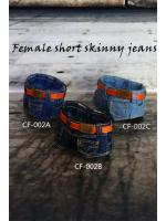 1/6 CF-002A Short Paragraph Low-cut Jeans