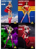 Flirty Girl FGC2017-35 / FGC2017-36 / FGC2017-37 / FGC2017-38 Super Hero Female Lingerie set