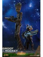 Hot Toys MMS476 AVENGERS: INFINITY WAR - GROOT & ROCKET