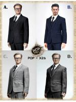 POPTOYS X26 Standard Western-Style Clothes Suit