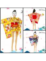Doll's Dream D.DG-01 / D.DG-02 / D.DG-03 Short paragraph sexy short paragraph kimono bathrobe