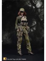 Fire Girl Toys FG043 US Army Seal CP Camouflage Women's Set