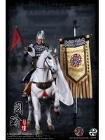 303TOYS Three Kingdoms Series NO.318 Zhou Yu + NO.118 Ferghana Horse + NO.218 Banner Suite (Full Set)