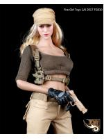Fire Girl Toys FG010 Tactical female gunman cool suit