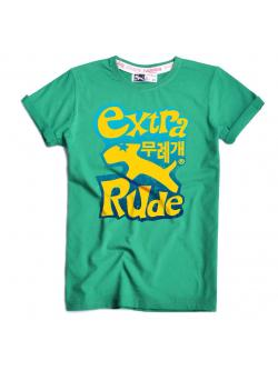 เสื้อ RudeDog รุ่น Extra Girl สีเขียว