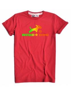 RudeDog รุ่น Logo Colour สีแดง