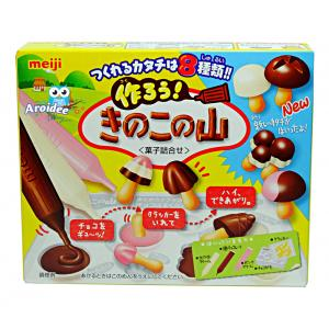 Meiji mushroom chocolate ช็อคโกแลตเห็ดทำเองได้ของเมจิ
