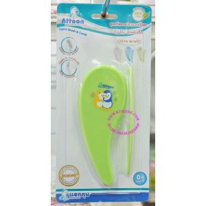 ชุดหวี สำหรับเด็กอ่อน ยี่ห้อ ATTOON (สีเขียว)