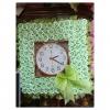 พวงพรีด นาฬิกา ดอกไม้จันทน์ (ทรงสี่เหลี่ยม)