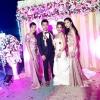 เช่าชุดไปงานแต่งงาน สีชมพูกะปิ