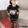 ชุดเด็ก เสื้อกับกางเกงลายทหาร แพ็ค 4 ชุด (ราคา 200 บาท/ชุด) ขนาด 80-100-110-120